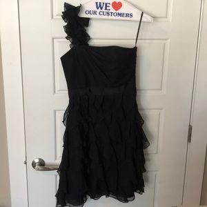 White House black market black dress size 4